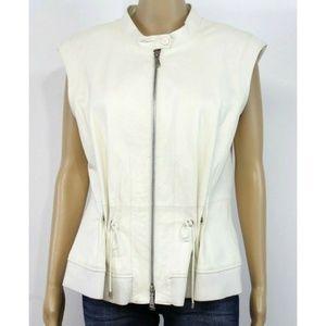 Worth Jackets & Coats - Worth New York Women Jacket Vest White